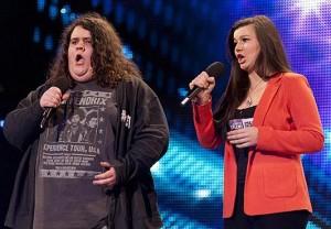 Jonathan Antoin., Charlotte & Jonathan Britains Got Talent audition