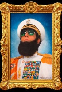 the dictator - Sacha Baron Cohen
