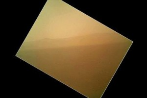 Mars Rover Curiosity Color Photo