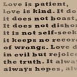 Corinthians 13:4-7