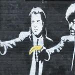 Banksy Street Art 5 - Pulp Fiction