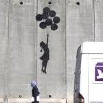 Banksy Balloon Girl in West Bank Israel