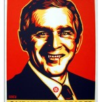 Shepard Fairey Obey Bush
