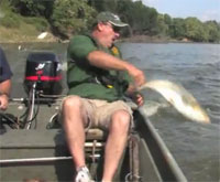 Flyfishing Flying Silver Carp
