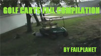 Golf Cart Fail Compilation