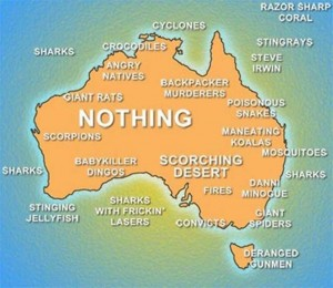 Australia - the land of humour