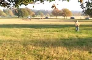 JESUS CHRIST IN RICHMOND PARK